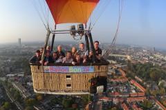Ballonvaart vanuit Tilburg