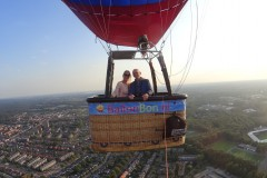 Ballonvaart boven Nijmegen