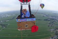 Privé ballonvaart Ballonbon.nl boven het Groene Hart